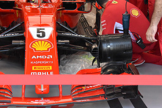 Ferrari floor technical detail