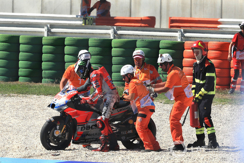 Падіння Хорхе Лоренсо, Ducati Team