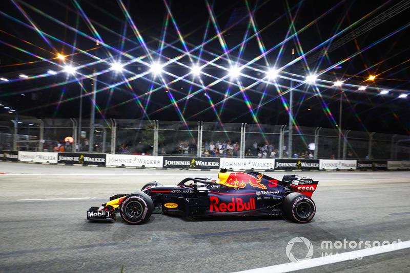 Daniel Ricciardo foi o sexto colocado