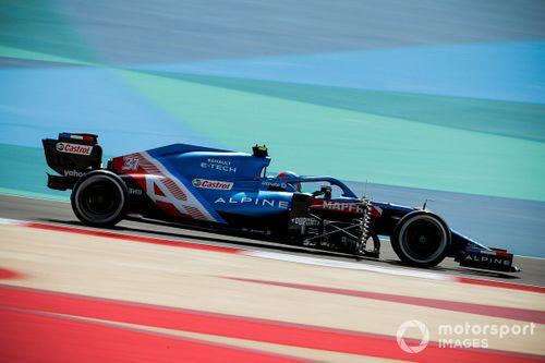 F1 Bahrain 2021 pre-season testing - Day 1
