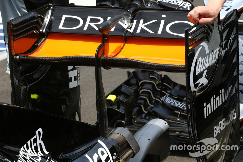 Sahara Force India F1 VJM09 detalle