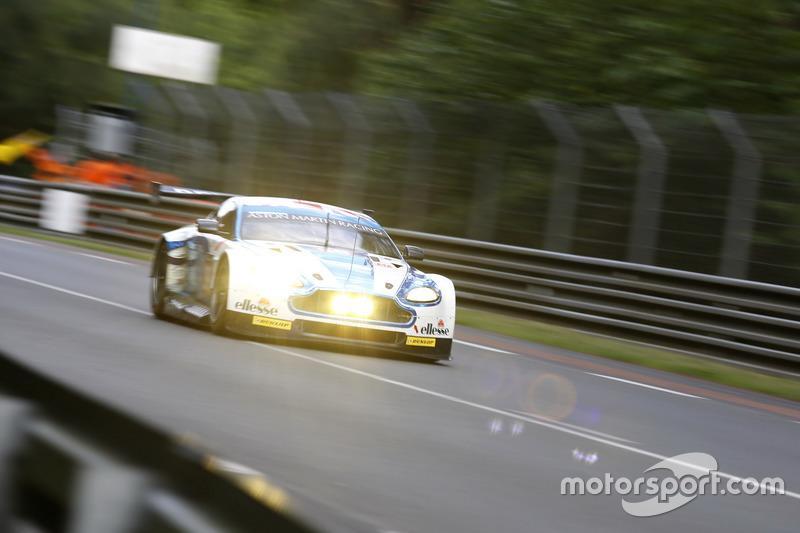 #99 Aston Martin Racing Aston Martin Vantage: Andrew Howard, Gary Hirsch, Liam Griffin