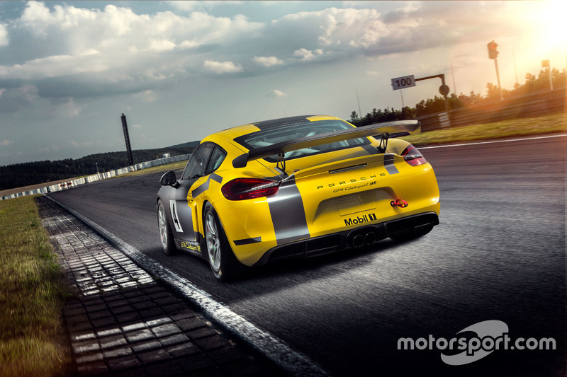 Porsche Cayman GT4 Clubsport Manthey Racing