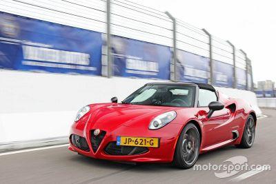 Präsentation: Alfa Romeo 4C CPZ