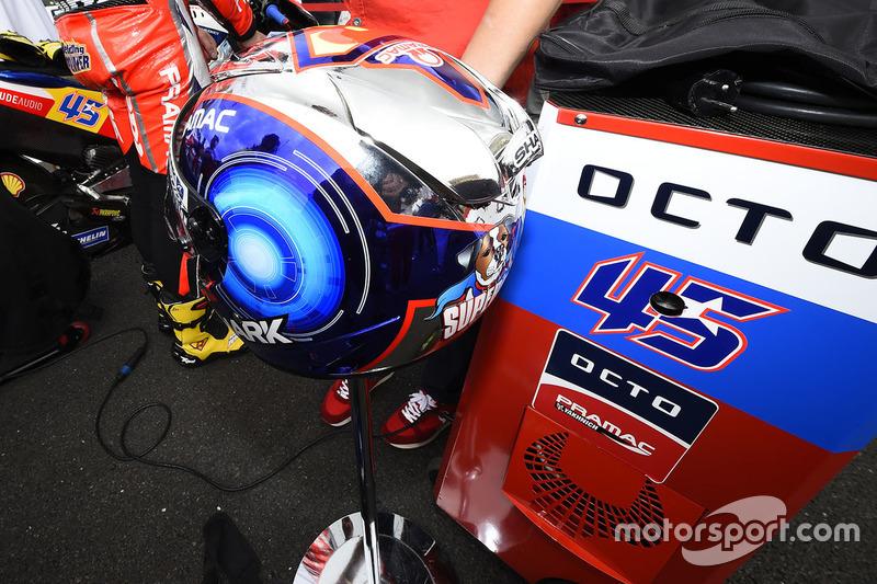 Il casco di Scott Redding, Pramac Racing
