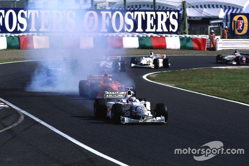 Rubens Barichello, Stewart, et Michael Schumacher, Ferrari