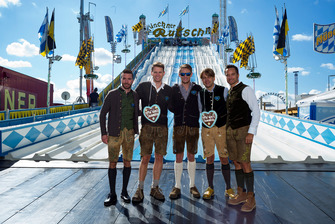 Philipp Eng, Nico Menzel, Marco Wittmann, Agusto Farfus, Timo Scheider