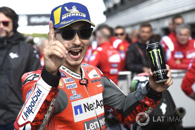 El hombre de la pole: Jorge Lorenzo, Team Ducati