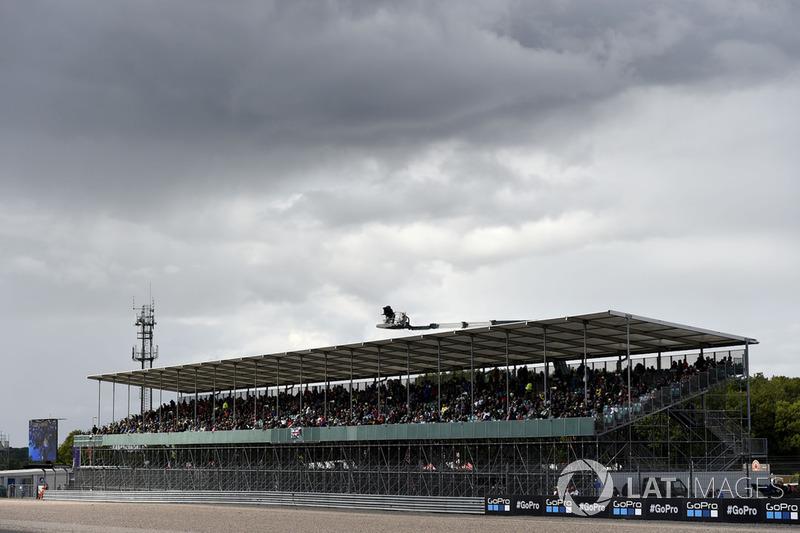 Penonton di Silverstone