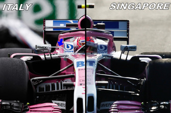 Force India VJM11 vergelijking spiegels