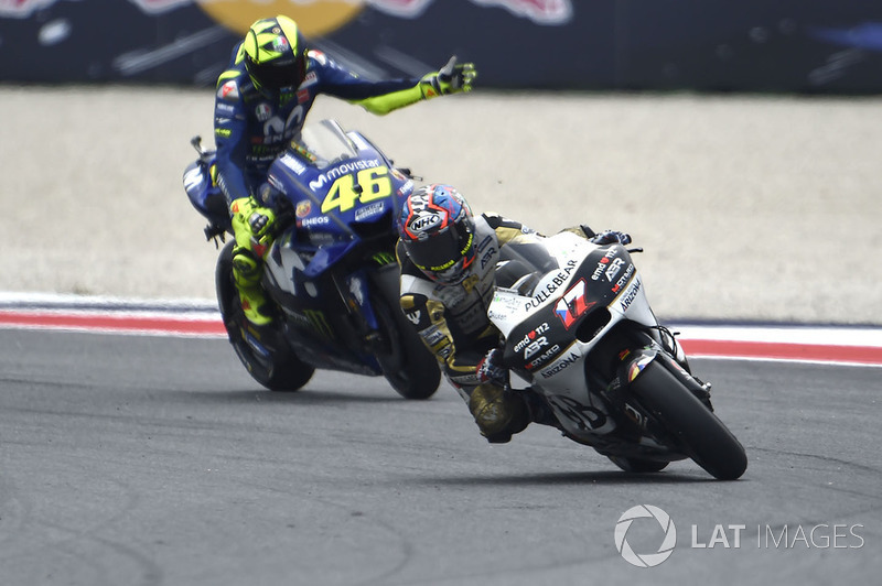 Karel Abraham, Angel Nieto Team, Valentino Rossi, Yamaha Factory Racing