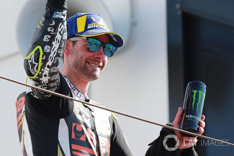 Podio: tercer clasificado Cal Crutchlow, Team LCR Honda