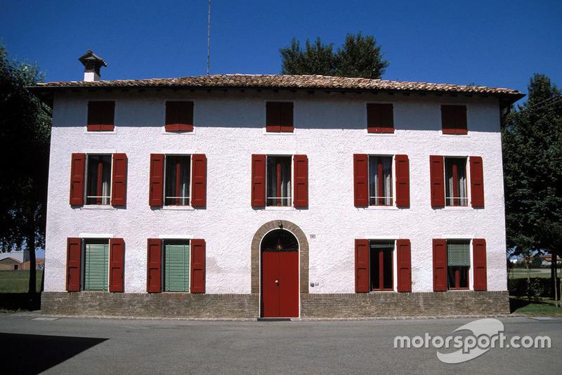 Fiorano 1987, Enzo Ferrari háza