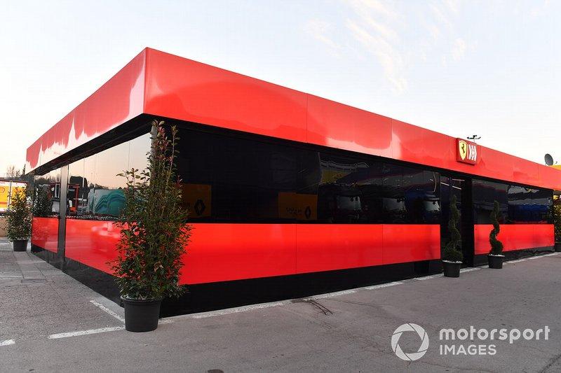 Motorhome de Ferrari