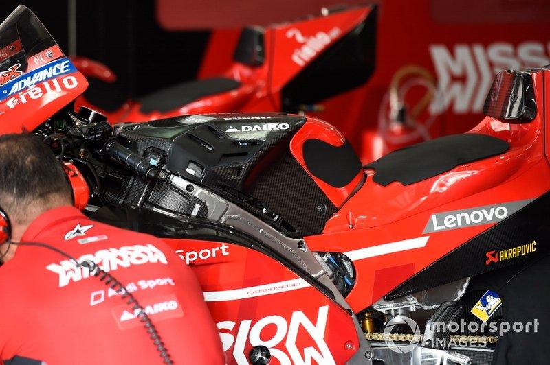 Ducati Team, depósito