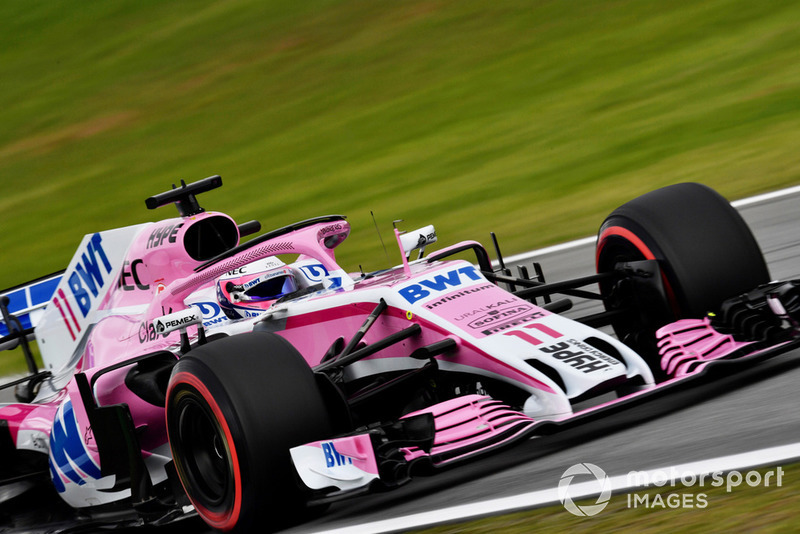 12: Sergio Perez, Racing Point Force India VJM11, 1'08.741