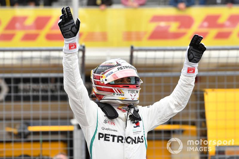 18. GP Amerika Serikat - Pole: Lewis Hamilton
