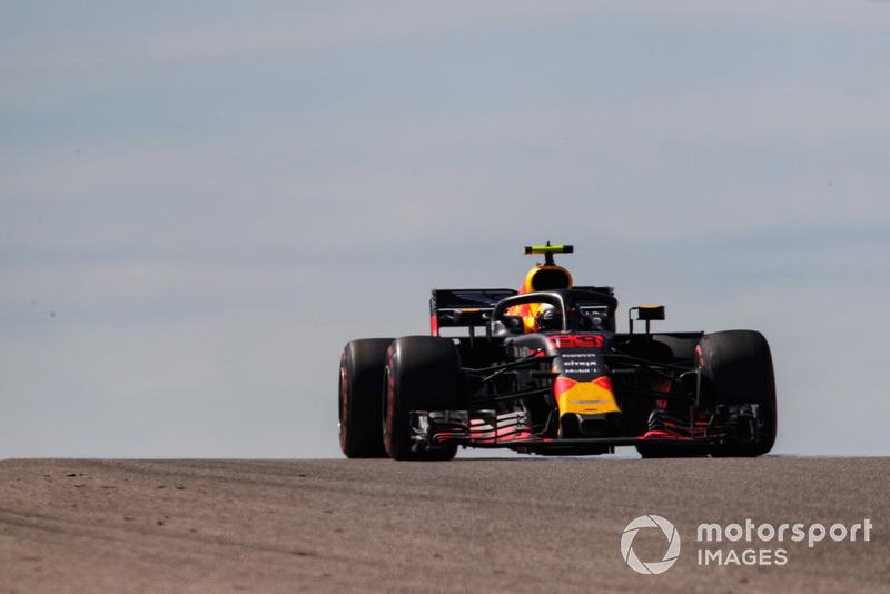 GP de Estados Unidos: Max Verstappen (2º en carrera)