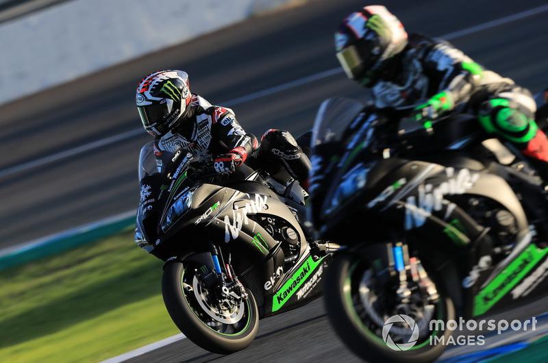 Jonathan Rea, Kawasaki Racing , Leon Haslam, Kawasaki Racing