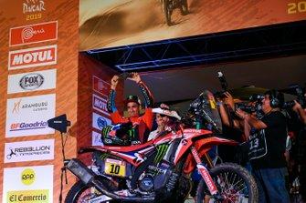 Podio: Monster Energy Honda Team Honda: JosŽ Ignacio Cornejo Florimo
