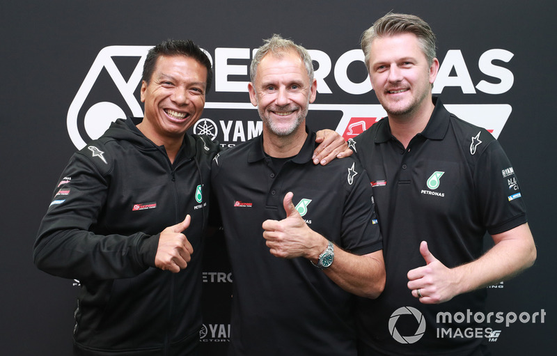 Razlan Razali, Johan Stigefelt, Wilco Zeelenberg, Petronas Yamaha SRT