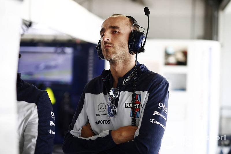Роберт Кубіца, Williams Martini Racing.