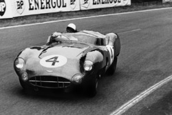 #4 Aston Martin DBR1: Stirling Moss, Jack Fairman