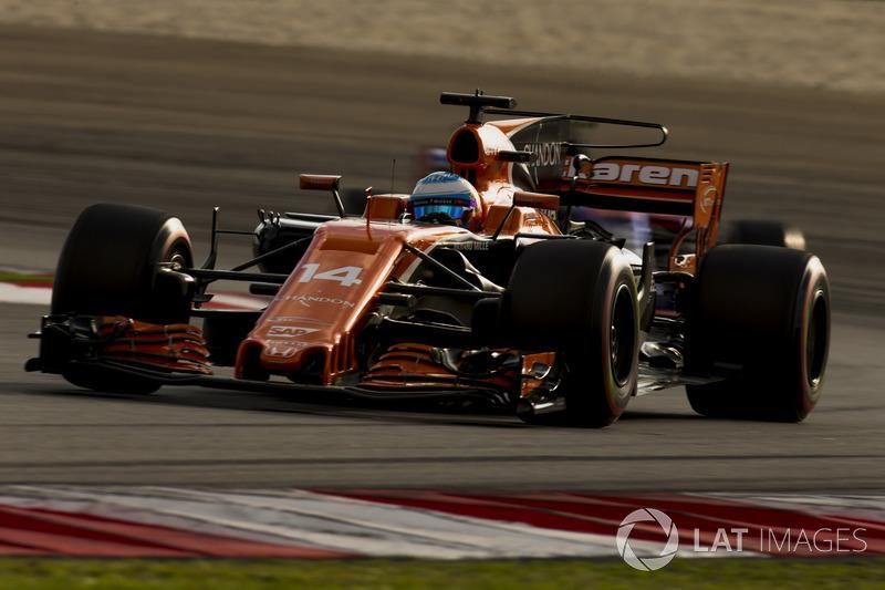 Fernando Alonso subiu no pódio de Suzuka quatro vezes, com uma vitória, dois segundos lugares e um terceiro. Nunca largou na pole position e abandonou três vezes