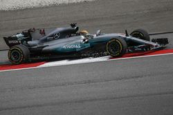 Lewis Hamilton, Mercedes-Benz F1 W08 sort large