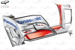 Toyota TF109 2009 front wing