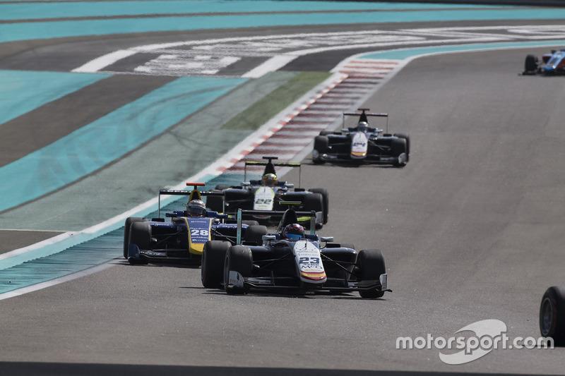 Steijn Schothorst, Campos Racing y Kevin Joerg, DAMS