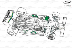 Williams FW07 1979 года