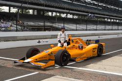 Fernando Alonso, Andretti Autosport Honda retrato oficial de calificación