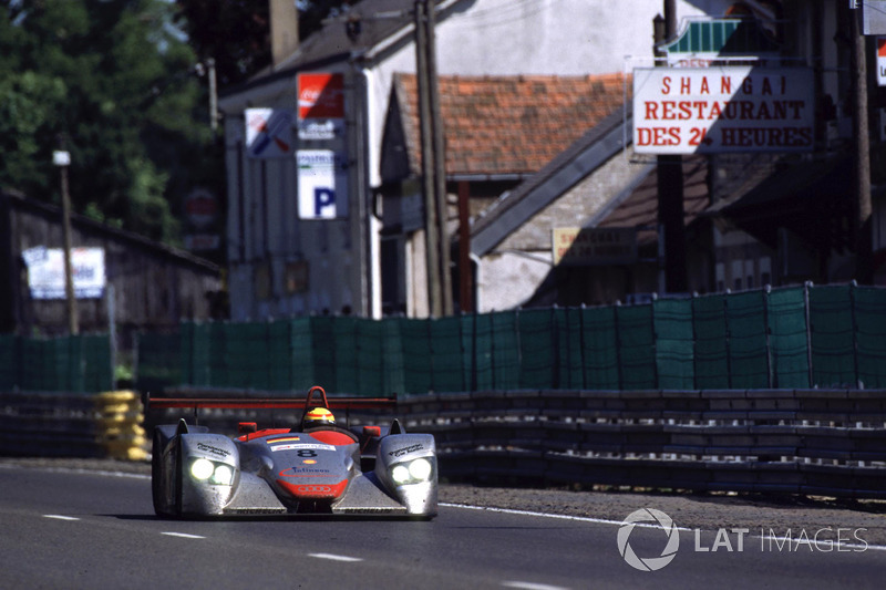 2000: Frank Biela, Tom Kristensen, Emanuele Pirro, Audi R8