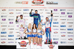 Podium: race winner Aurimas Bakchis, second place Michael Essa, third place Kristaps Bluss