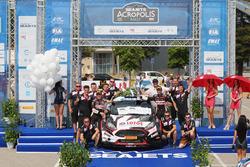 Kajetan Kajetanowicz, Jarek Baran e il LOTOS Rally Team