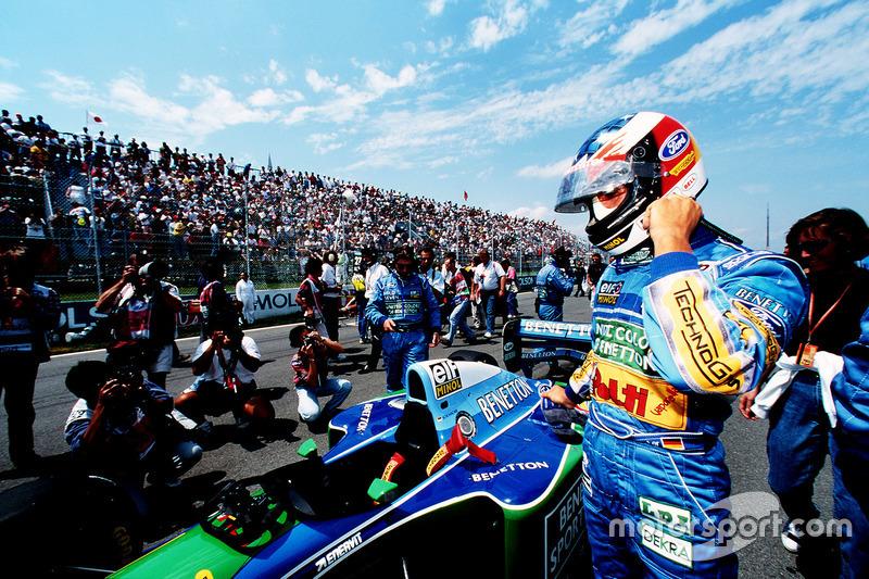 1994 Kanada GP, Benetton B194