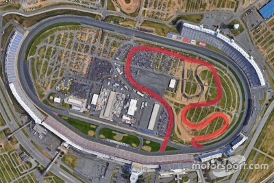 Charlotte road course rendering
