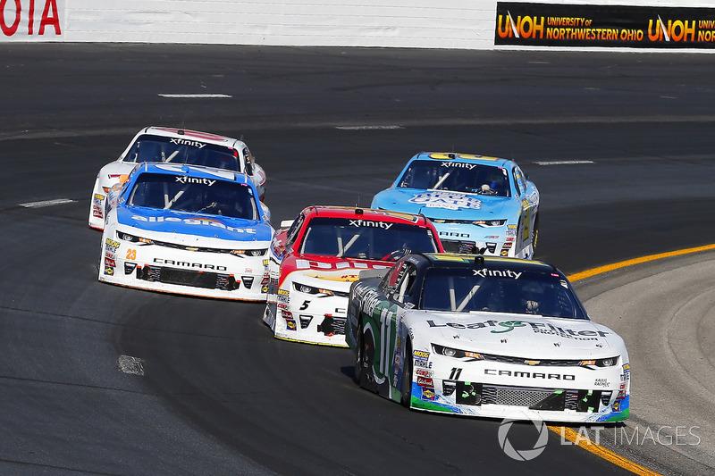 Blake Koch, Kaulig Racing Chevrolet, Michael Annett, JR Motorsports Chevrolet