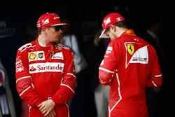 Kimi Raikkonen, Ferrari e Sebastian Vettel, Ferrari dopo le Qualifiche