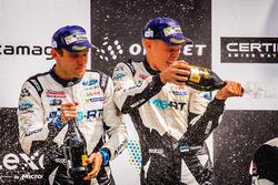 Podium : les vainqueurs Ott Tänak, Martin Järveoja, Ford Fiesta WRC, M-Sport