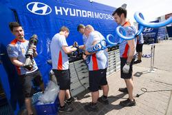 Atmosphere at Huyndai Motorsport