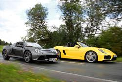 Porsche Boxter GTS vs. Lotus Exige S