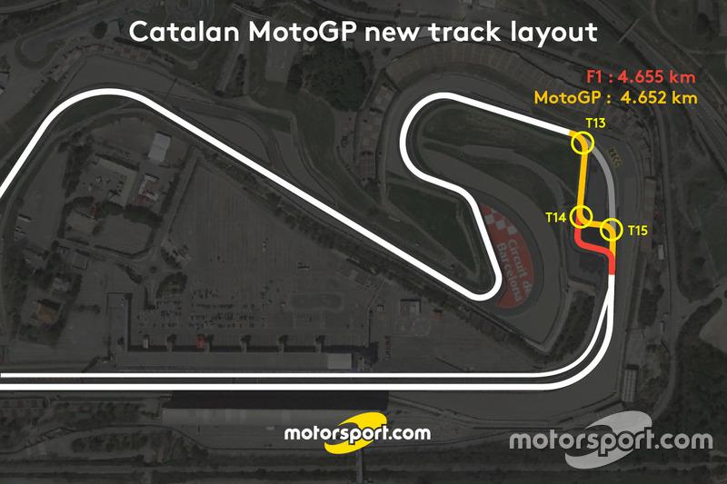 Revisión del trazado para el GP de Cataluña