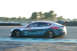 Electric GT Championship tesztelés