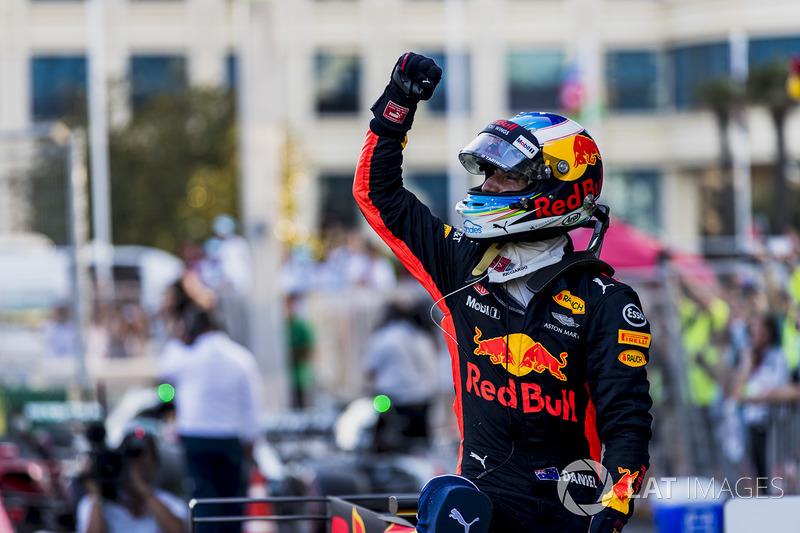 Победитель: Даниэль Риккардо, Red Bull Racing