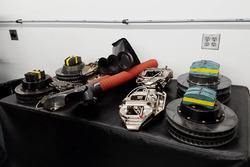 Brad Keselowski Racing brake system