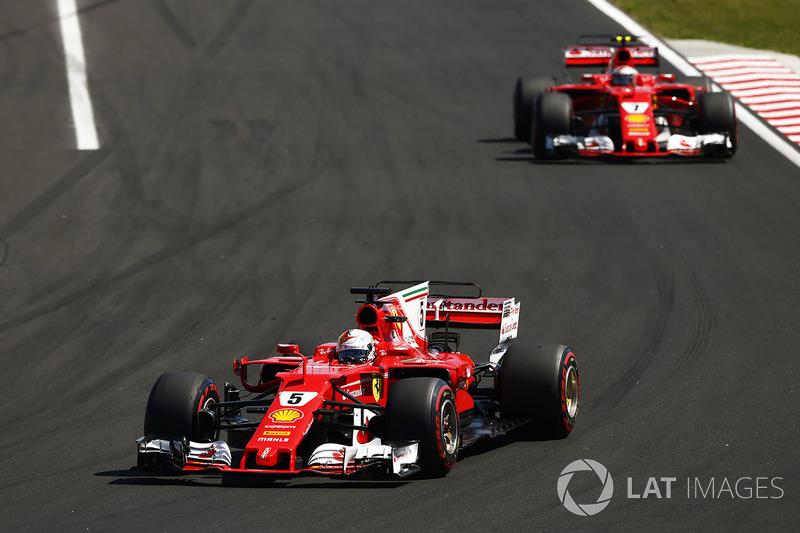 Гран При Венгрии: Райкконен борется с расстановкой приоритетов в Ferrari, пытаясь убедить команду дать ему пройти Феттеля