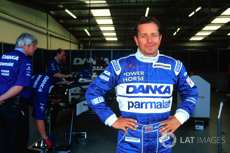 Мартін Брандл тестує  Arrows F1 Car