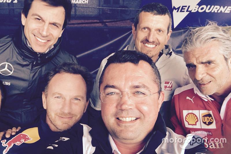 Eric Boullier, director de McLaren F1, fotografía seleccionada
